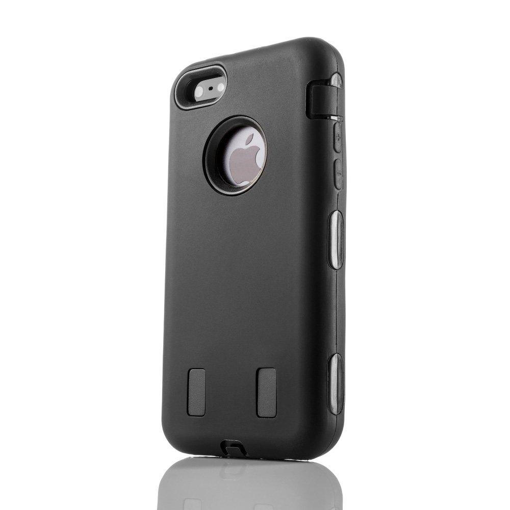 Защитный чехол Griffin Survivor черный для iPhone 5/5S/SE