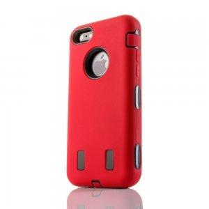 Противоударный чехол Griffin Survivor красный для iPhone 5/5S/SE