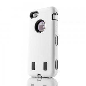 Противоударный чехол Griffin Survivor белый для iPhone 5/5S/SE
