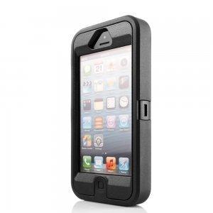 Защитный чехол OtterBox Defender черный для iPhone 5/5S/SE