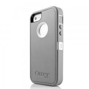 Противоударный чехол OtterBox Defender серый для iPhone 5/5S/SE