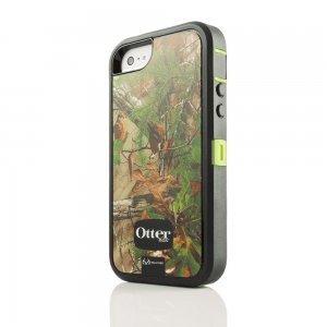 Противоударный чехол OtterBox Defender RealTree зеленый + черный для iPhone 5/5S/SE