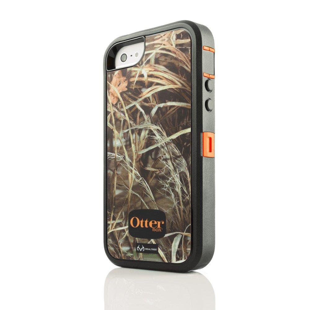 Противоударный чехол OtterBox Defender RealTree оранжевый + черный для iPhone 5/5S/SE