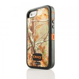 Защитный чехол OtterBox Defender RealTree оранжевый + черный для iPhone 5/5S/SE