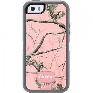 Защитный чехол OtterBox Defender RealTree розовый + серый для iPhone 5/5S/SE
