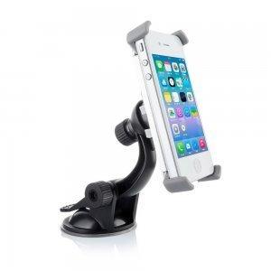 Автодержатель для Apple iPhone 4/4S - Car Stand Holder (Aluminum+Plastic) 360° черный