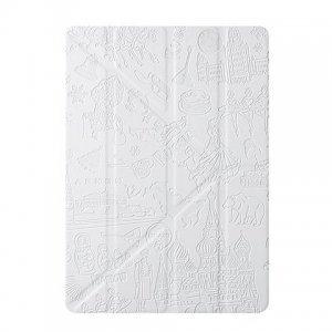 Чехол-книжка Ozaki O!coat Travel Moscow белый для iPad Air