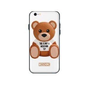 Чехол с рисунком WK Moschino Bear для iPhone 6/6S