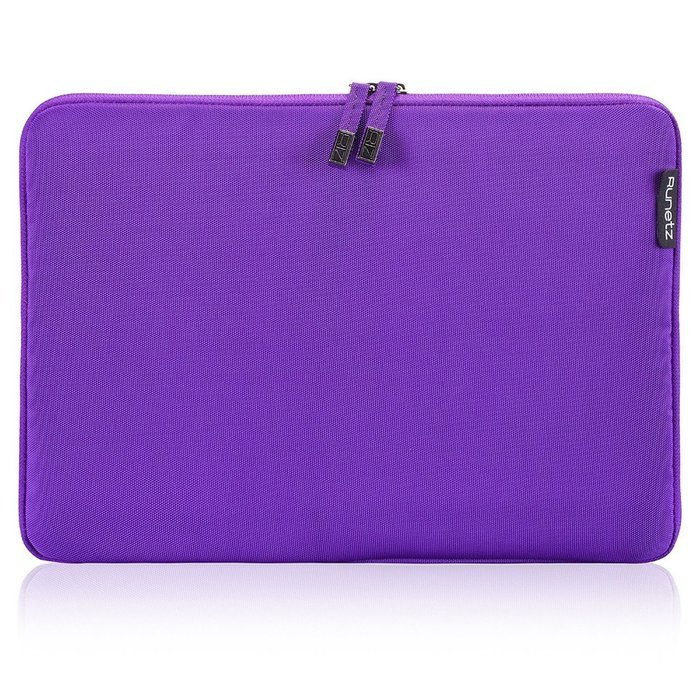 "Чехол-карман для Apple MacBook Pro 15""/Pro Retina 15"" - Runetz Soft Sleeve фиолетовый"