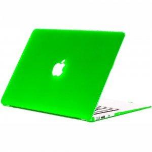 "Чехол-накладка для Apple MacBook Air 13"" - Kuzy Rubberized Hard Case зеленый (Apple-Green)"