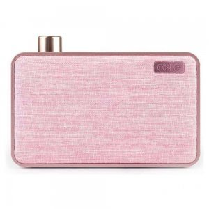 Портативная колонка EMIE Bluetooth Speaker Canvas Pink