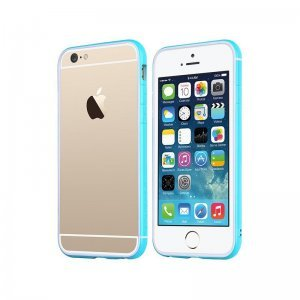 Чехол-бампер для Apple iPhone 6 - TOTU Evoque голубой