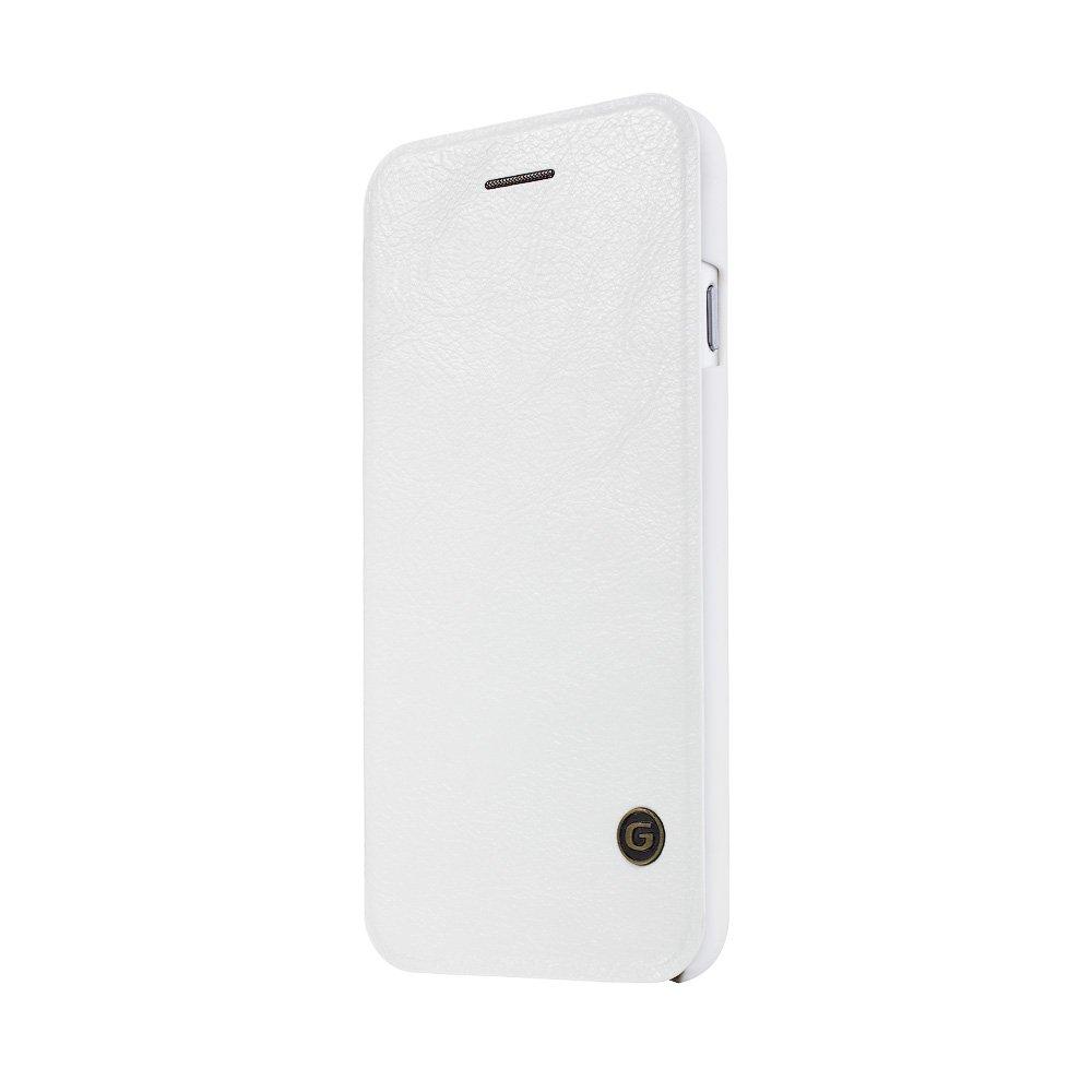 Чехол-книжка для Apple iPhone 6 - G-Case Leather Book белый