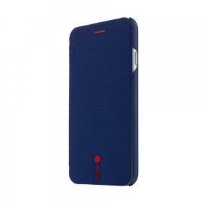 Чехол-книжка для Apple iPhone 6 - Rock Leather Book синий