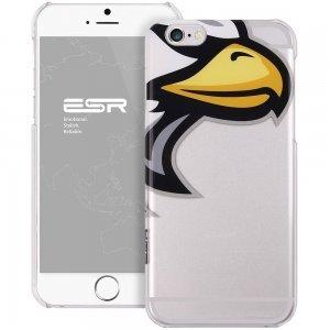 Чехол-накладка для Apple iPhone 6 - ESR Mania Series Eagle Eye прозрачный + белый