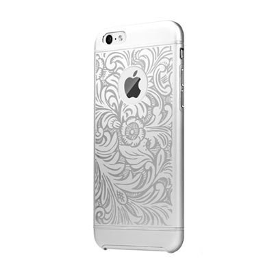 Чехол с рисунком iBacks Essence Cameo Venezia серебристый для iPhone 6/6S
