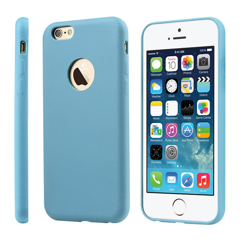 Чехол-накладка для Apple iPhone 6 - TOTU Original голубой