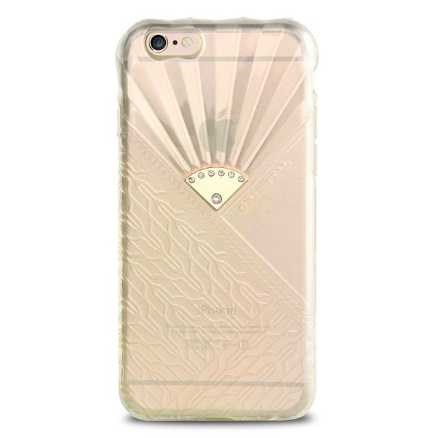 Чехол-накладка для Apple iPhone 6 - USAMS Fancy Sprouts прозрачный