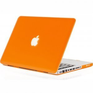 "Чехол-накладка для Apple MacBook Pro 15"" - Kuzy Rubberized Hard Case оранжевый"