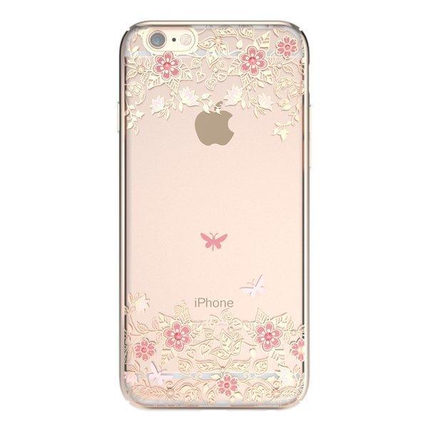 Чехол-накладка для Apple iPhone 6/6S - Kingxbar Dreamland Gold Peony