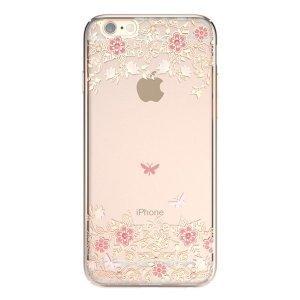 Чохол-накладка для Apple iPhone 6 / 6S - Kingxbar Dreamland Gold Peony