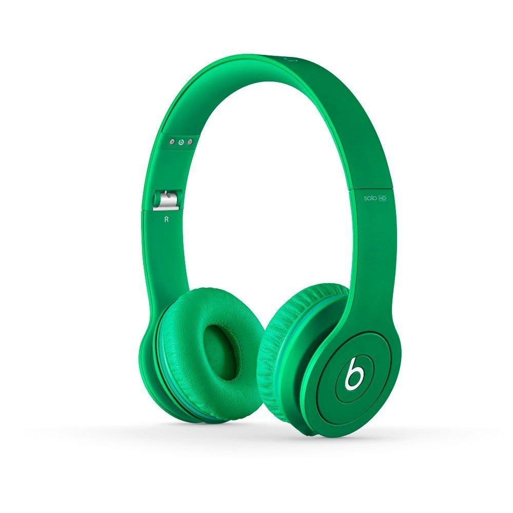 Наушники BEATS Solo HD Monochromatic зеленые
