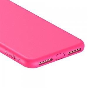 Противоударный (TPU) чехол SwitchEasy Numbers ярко-розовый для iPhone 8 Plus/7 Plus