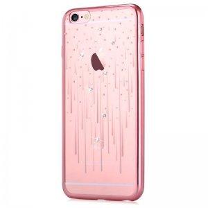 Чехол-накладка для Apple iPhone 6/6S - Devia Crystal Meteor розовый