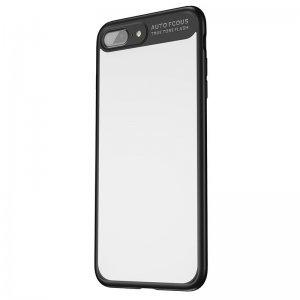 Чехол с зеркалом Baseus Mirror чёрный для iPhone 7 Plus