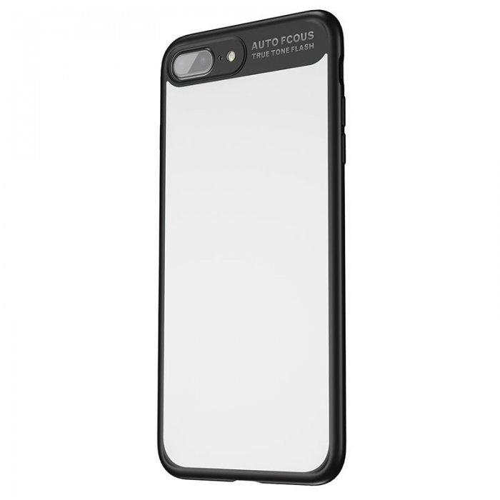 Чехол с зеркалом Baseus Mirror чёрный для iPhone 8 Plus/7 Plus