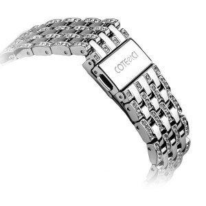Ремешок для Apple Watch 38mm - COTEetCI W4 Magnificent серебристый