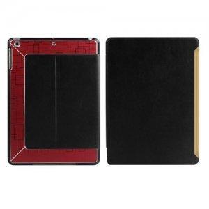 Чехол с орнаментом iBacks Flame черный + красный для iPad Air/iPad (2017)