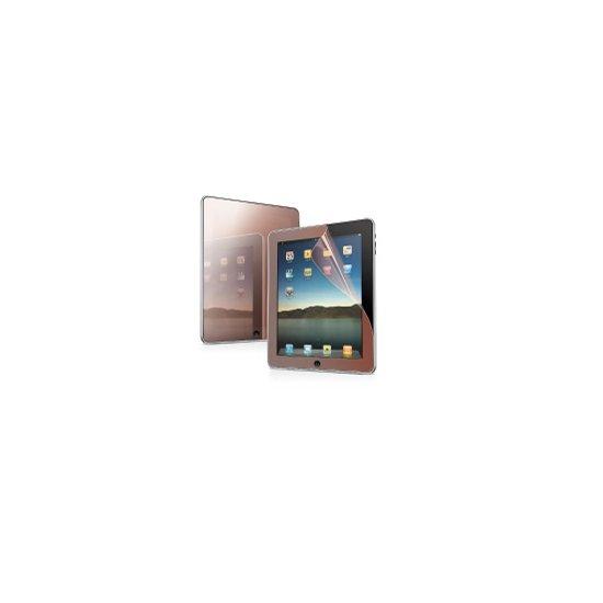 Защитная пленка для Apple iPad - Capdase Screen Guard зеркальная красная