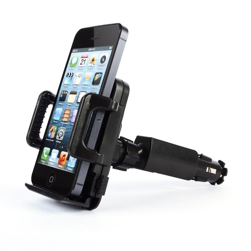 Универсальный автодержатель + зарядное устройство для смартфона
