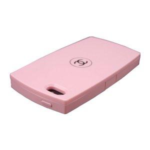 Чехол-накладка для Apple iPhone 5/5S - Chanel Design розовый