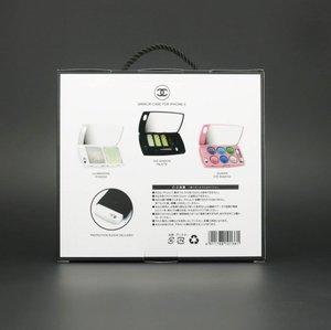 Чехол-накладка для Apple iPhone 5/5S - Chanel Design белый