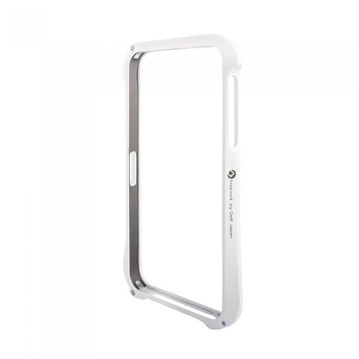 Чехол-бампер для Apple iPhone 5/5S - Cleave A6063 белый
