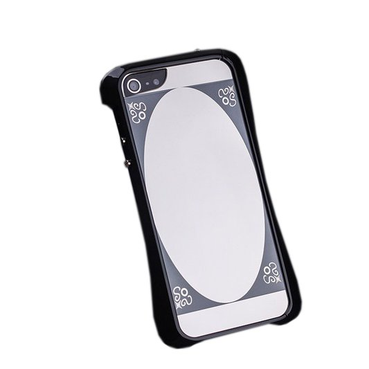 Чехол-бампер для Apple iPhone 5/5S - Love Mei Cleave черный