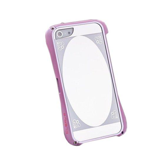 Чехол-бампер для Apple iPhone 5/5S - Love Mei Cleave розовый