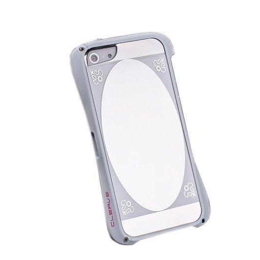 Чехол-бампер для Apple iPhone 5/5S - Love Mei Cleave белый