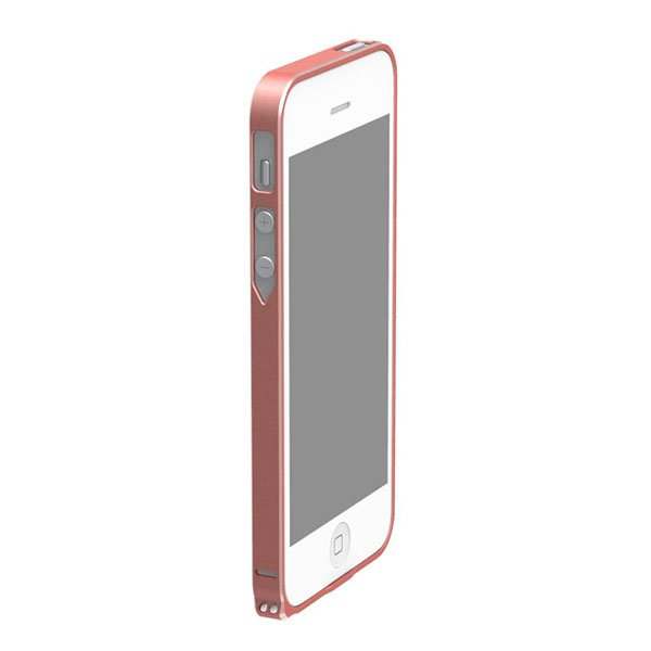 Чехол-бампер для Apple iPhone 4/4S - Cross Metal SP-5 красный