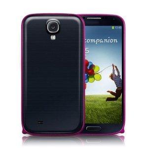 Чехол-бампер для Samsung Galaxy S4 - Cross Metalрозовый
