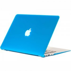 "Чехол-накладка для Apple MacBook Air 11"" - Kuzy Rubberized Hard Case голубой (Aqua)"