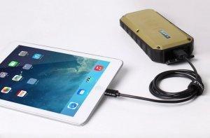 Кабель Lightning для Apple iPhone/iPad/iPod - iWalk Twister 1м, черный