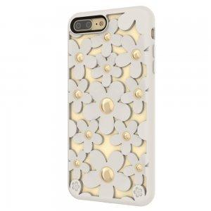 3D чехол SwitchEasy Fleur белый для iPhone 7 Plus