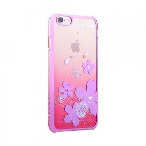 Чехол-накладка для Apple iPhone 6/6S - Kingxbar Flowers розовый