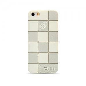 Пластиковий чохол Cococ Square білий для iPhone 5 / 5S / SE
