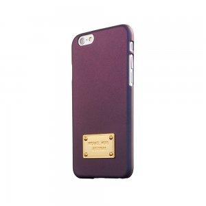 Чехол-накладка для Apple iPhone 6 - Michael Kors Design Angora фиолетовый