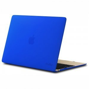 "Чехол-накладка для Apple MacBook 12"" - Kuzy Rubberized Hard Case синий"