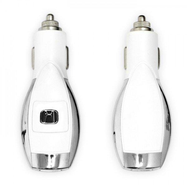 Автомобильное зарядное устройство dPL Honda белое